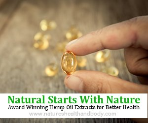 Natures Health and Body Hemp Oil Capsule